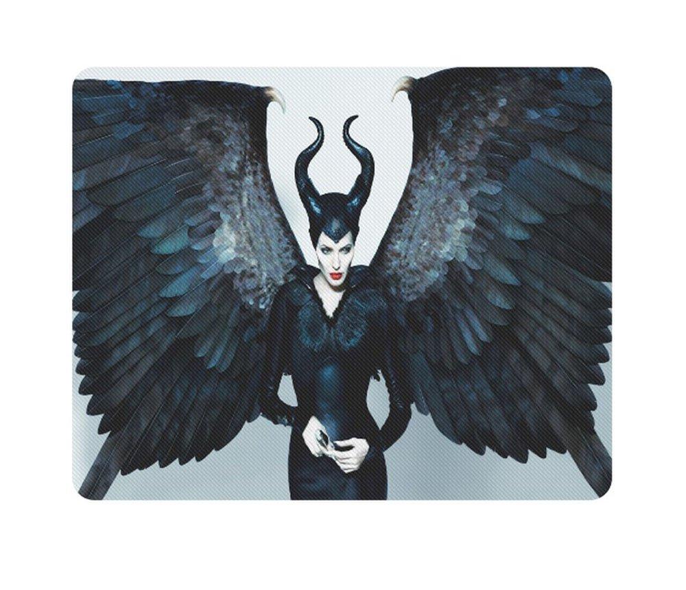 Maleficent Rectangle Mousepad Non Slip Neoprene