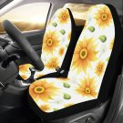 Sunflower and Dandelion Flower Floral Car Seat Covers (Set of 2)