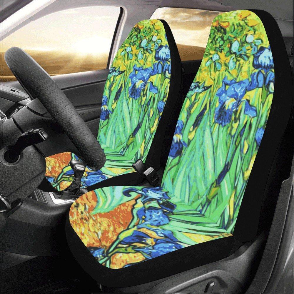 Irises Van Gogh Car Seat Covers (Set of 2)