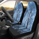 Starry Night Stars Forest Car Seat Covers (Set of 2)