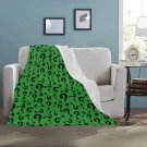 """Riddle Riddler Question Mystery Ultra-Soft Micro Fleece Blanket 40"""" x 50"""""""