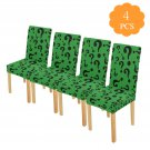 Riddle Questions Chair Cover Pack of 4 pcs