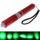 5mW Focus Starry Pattern Green Light Laser Pointer Pen Red