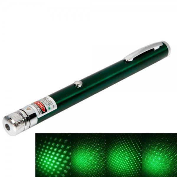 1mW 532 Beam Light Starry Rechargeable Green Laser Pointer Pen Green