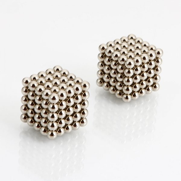 250pcs 5mm DIY Buckyballs Neocube Magic Beads Magnetic Toy Silver