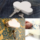 Creative Cloud-shaped Magnetic Key Holder Magnetic Toy White