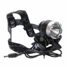 BD6077 Cree XML T6 LED 1200 Lumen 4 Modes Rechargeable Hard Light Bicycle Light Headlight Silver