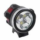 CREE XML L2 LED 3-Bulb 3 Modes High Power Bicycle Light/Headlight Black