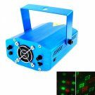 12-in-1 Red Green Light Laser Stage Lighting Blue