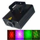 LT-658RGB 500mw/100mw Different Patterns Green and Red Stage Light Black