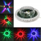 6-8W Mini Sunflower LED Voice Activated RGB Stage Light Disco Bar DJ Party (US/EU Standard Plug)