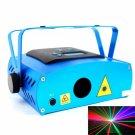 Full Color Animation SD Card 1GB Laser Stage Light Blue (100-240V)