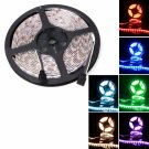 72W SMD5050 5m 300LEDs RGB IR44 Epoxy Waterproof LED Light Strip(12V)