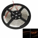 50W SMD3528 5m 600LEDs Orange Yellow Light LED Light Strip (White Lamp Plate) (12V)