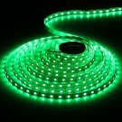 16.4Ft Waterproof 75W 5m 300LEDs 5730SMD 515-530nm Green Light LED Light Strip (DC 12V)