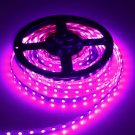 75W 5050SMD 5M 300LEDs 400-450nm Pink Light Decorative LED Strip Light (DC 12V)