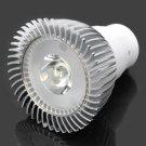 DB-CG102 G5.3 1W 6000-7000K 95LM White 1-LED Spot Light Bulb Silver & White (AC 89~265V)
