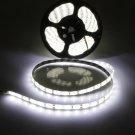 5M 72W 5630SMD 300 LED Waterproof Pure White Light Flexible Soft Light Strip (12V)