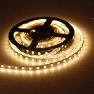 5M 75W 300 LED 5050 SMD 3000-3600LM 3000-3500K Decorative Light Strip Warm White (DC 12V)