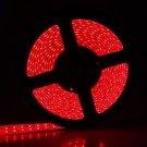Double LED Light Bar 5M 90W 900-LED 3528 SMD Waterproof Red Decorative Light Strip (DC 12V)
