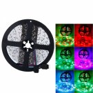 Plastic 300-LED SMD3528 24W RGB IR44 New Light Strip Set with IR Remote Controller(White Lamp Plate)