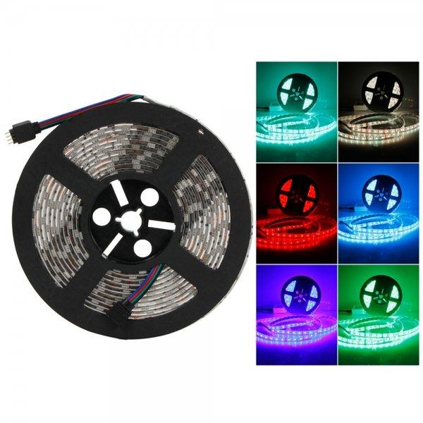 Waterproof 300-LED SMD5050 RGB IR44 Controller 5M Flexible LED Light Strip Set