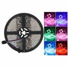 Waterproof 300-LED SMD5050 RGB MINI 24 Keys IR Controller 5M Flexible LED Light Strip Set