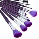 16pcs Professional Cosmetic Makeup Brush Set Purple FC0407001