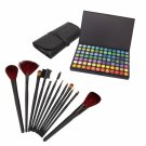 168 Full Color Eyeshadow Palette with 12pcs Makeup Brush Set