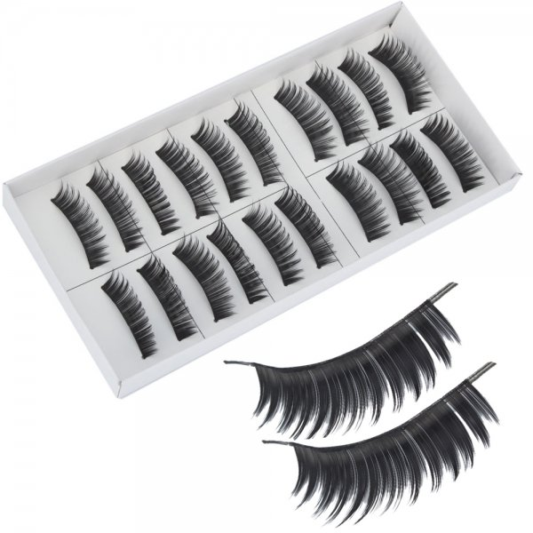 10 Pairs Long False Eyelashes