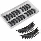 10 Pairs Long False Eyelashes (SKS021)