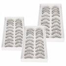 30 Pairs Natural False Eyelashes FE-01