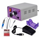 25000RPM Electric Nail Manicure Drill File Machine with Foot Pedal