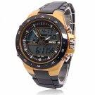 Men Sports Watches Waterproof Fashion Casual Quartz Watch Yellow