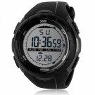 SKMEI 1025 Digital Display Multifunction Waterproof Electronic Outdoor Sports Wrist Watch