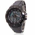 Men Sports Waterproof Fashion Casual Quartz Watch Digital Analog Multifunctional Wrist Watches