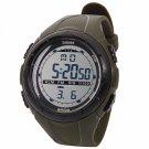SKMEI 1025 Digital Display Multifunction Waterproof Electronic Outdoor Sports Wrist Watch Army Green