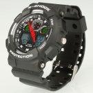 Waterproof Sport Wrist Watch Alike 1055 Unisex Multifunction Diving Watch Gray
