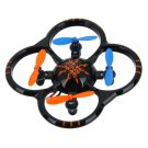 NIHUI U207 2.4G 6-Axis Gyro Smallest RC Micro Quadcopter (Mode 2) Black