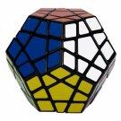 SHS Megaminx Rubik's Magic Cube Puzzle Toy Black