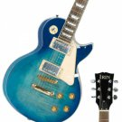 Humbucking Pick-up Electric Guitar with Bag & Accessories Blue