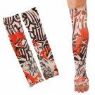 2pcs Temporary Arm Stockings Fake Tattoo Sleeves T4