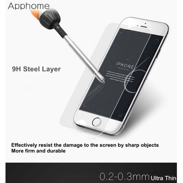 Smart Two Touch Tempered Glass Screen Protector Film Protective for iPhone 6 Plus / 6S Plus