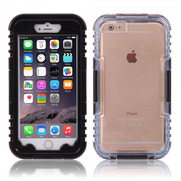 IP 68 Deep Waterproof Dust Shockproof Full Protect Case Cover for iPhone 6 Plus/6S Plus Black