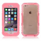IP 68 Deep Waterproof Dust Shockproof Full Protect Case Cover for iPhone 6 Plus/6S Plus Pink