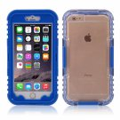 IP 68 Deep Waterproof Dust Shockproof Full Protect Case Cover for iPhone 6 Plus/6S Plus Blue