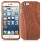 Environmental-friendly Wooden Protective Case for iPhone 6/6S Dark Bamboo Pattern