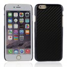 "Protective Plastic Back Case Cover for iPhone 6 4.7"""" Black"