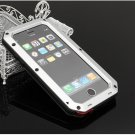 Waterproof Shockproof Aluminum Glass Metal Case Cover for iPhone 6 Plus/6S Plus Silver