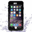 Waterproof Shockproof Dirt-proof Button Style Protective Case for iPhone 6 Plus/6S Plus Black